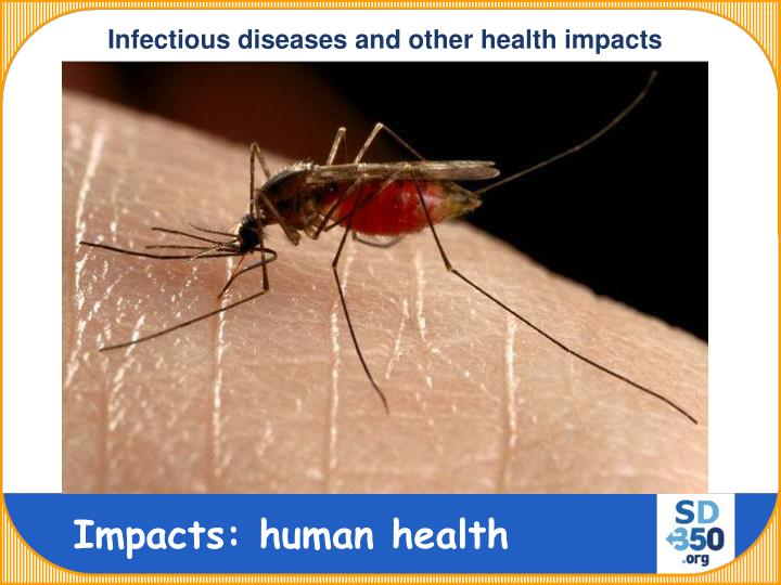 Infectious diseases and other health impacts