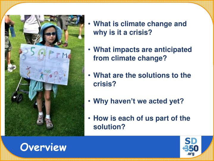 What is climate change and why is it a crisis?