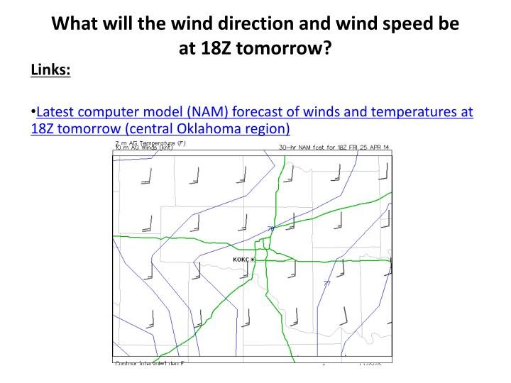 Weather Forecast Oklahoma City Tomorrow