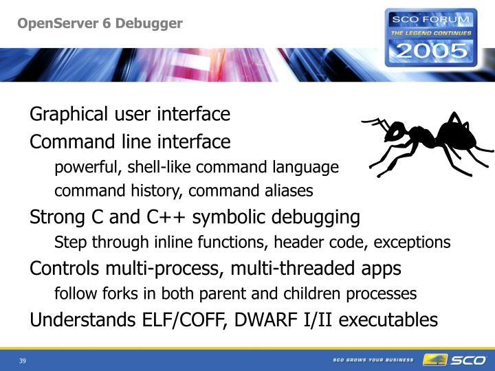 OpenServer 6 Debugger