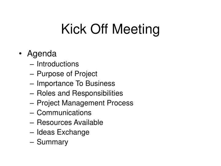 ppt - kick off meeting powerpoint presentation - id:5068359, Powerpoint templates