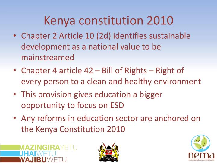 Kenya constitution 2010