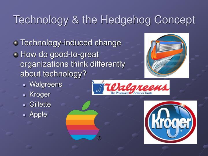 Technology & the Hedgehog Concept