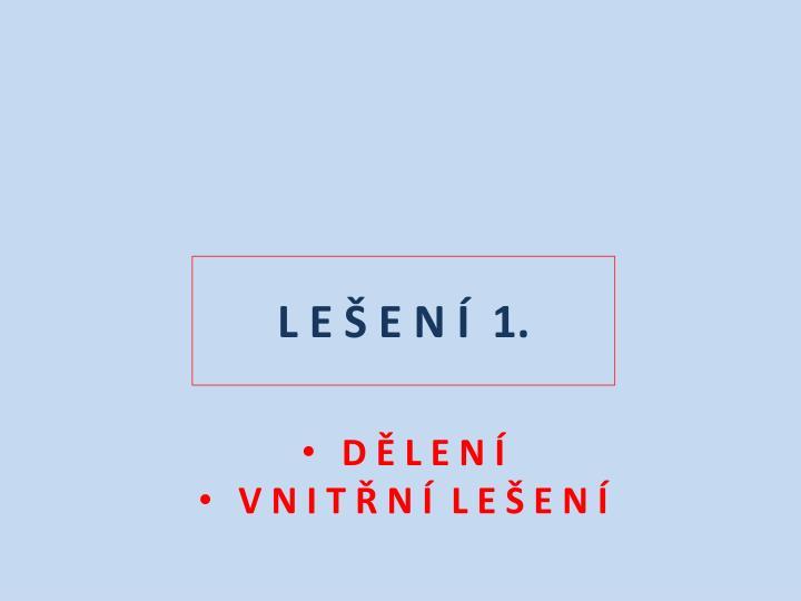 L e e n 1