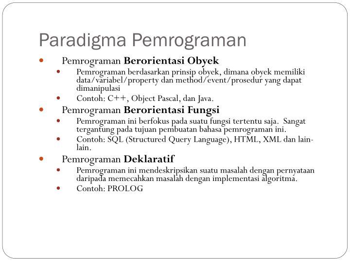 Ppt Algoritma Dan Pemrograman Powerpoint Presentation Id 5068987