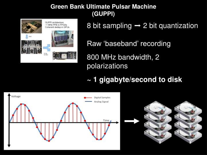 Green Bank Ultimate Pulsar Machine (GUPPI)