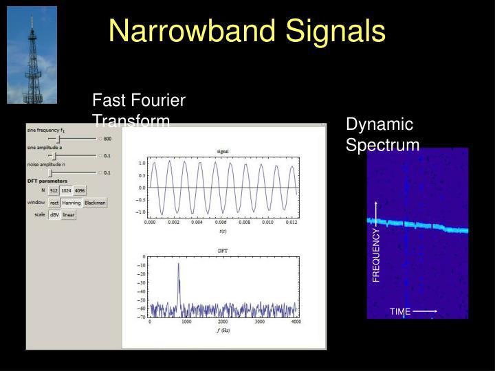 Narrowband Signals