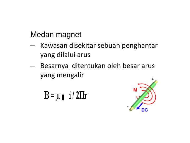 Medan magnet