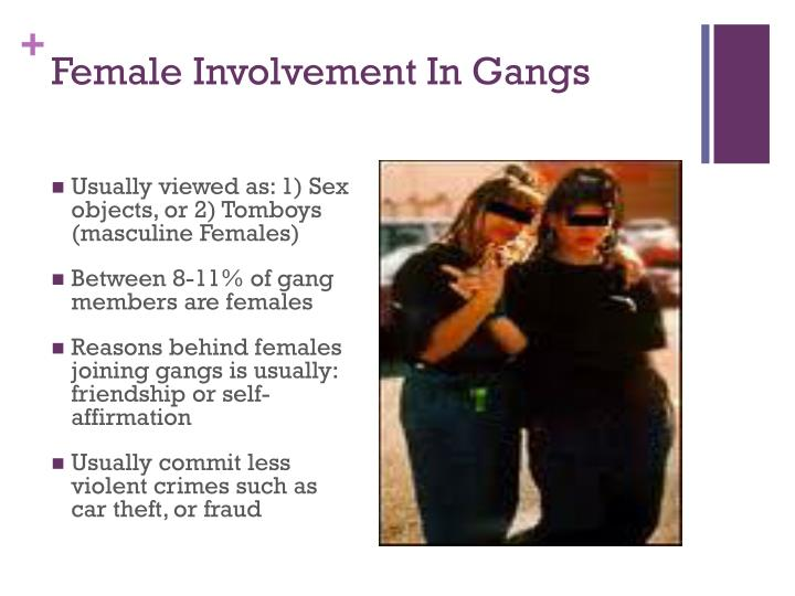 Female Involvement In Gangs