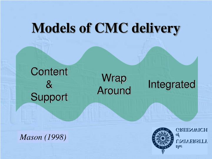 Models of cmc delivery
