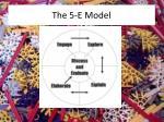 the 5 e model
