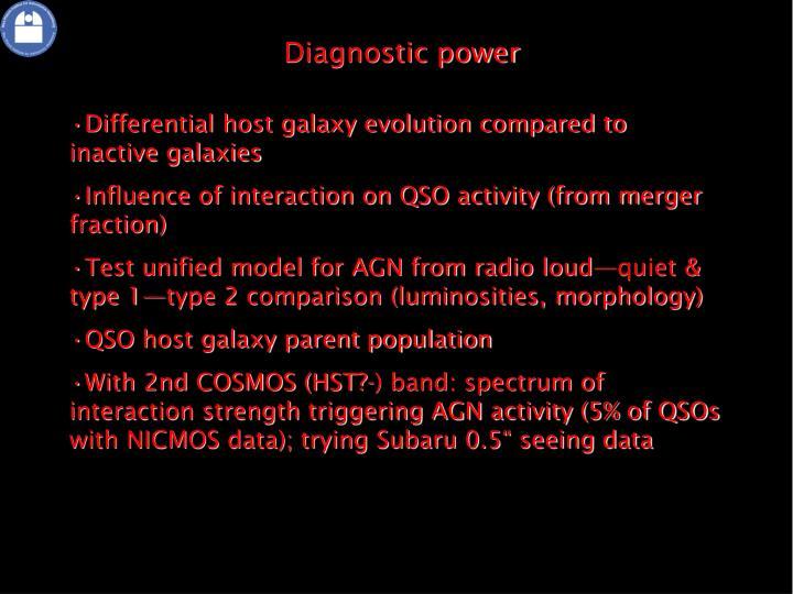 Diagnostic power