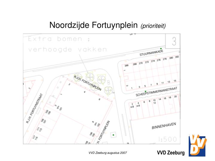Noordzijde Fortuynplein