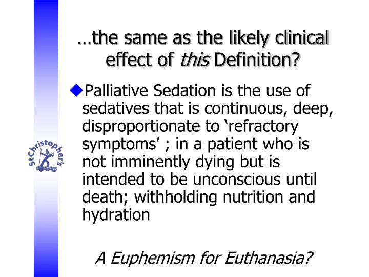 U2026the Same As The Likely Clinical Effect Of This Definition?