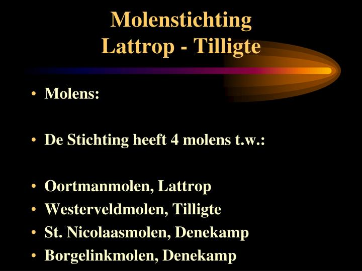 Molenstichting