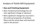 analysis of textile mill equipment7
