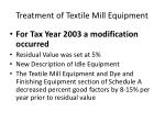 treatment of textile mill equipment4