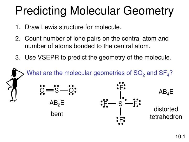 What are the molecular geometries of SO