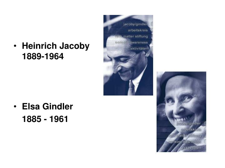 Heinrich Jacoby 1889-1964
