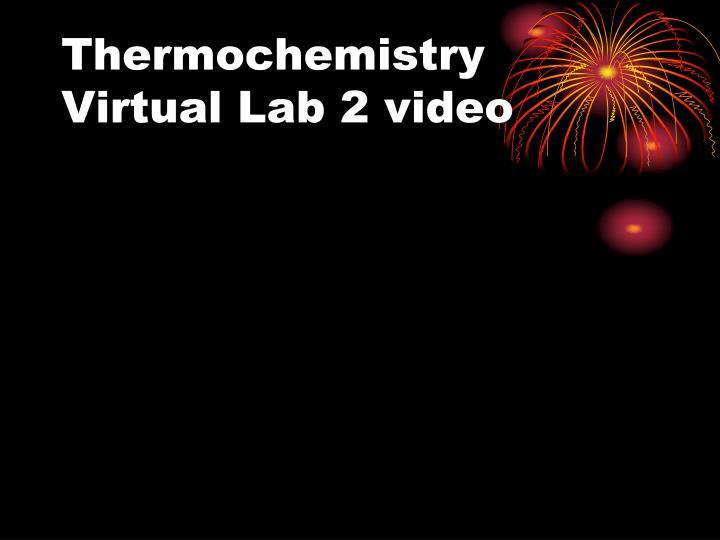 Thermochemistry Virtual Lab 2 video