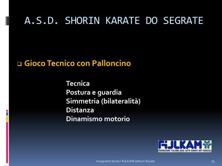 A.S.D. SHORIN KARATE DO SEGRATE
