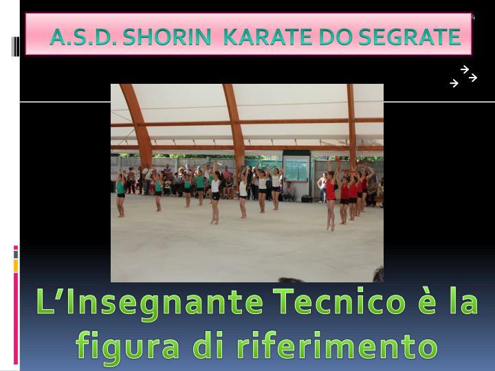 Insegnanti tecnici FIJLKAM settore Karate