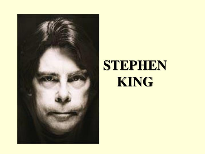 a biography of stephen king