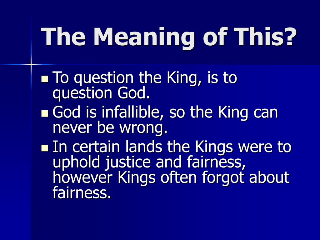 PPT - Absolutism: The Divine Right of Kings PowerPoint ...