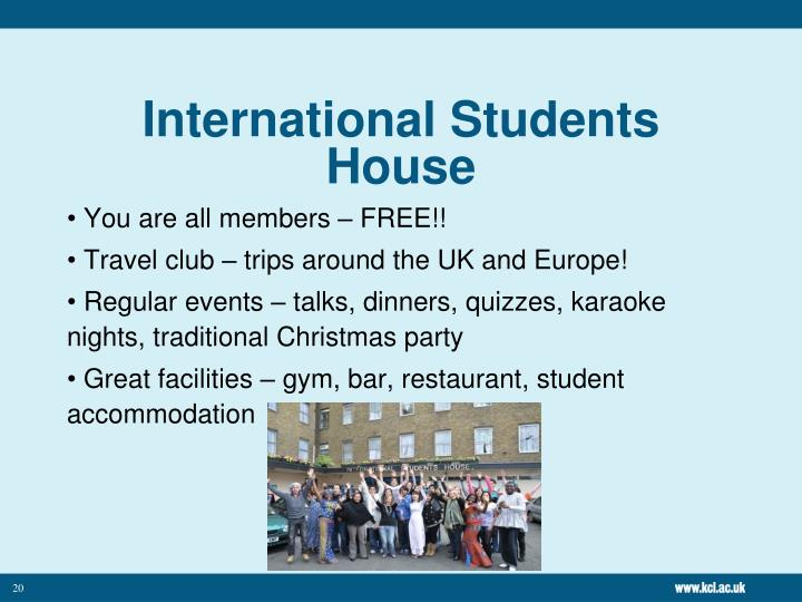 International Students House