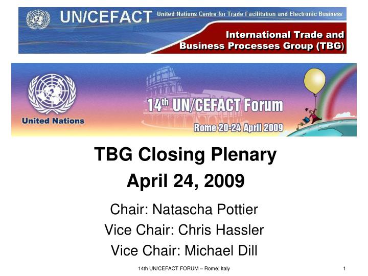 international trade and business processes group tbg n.