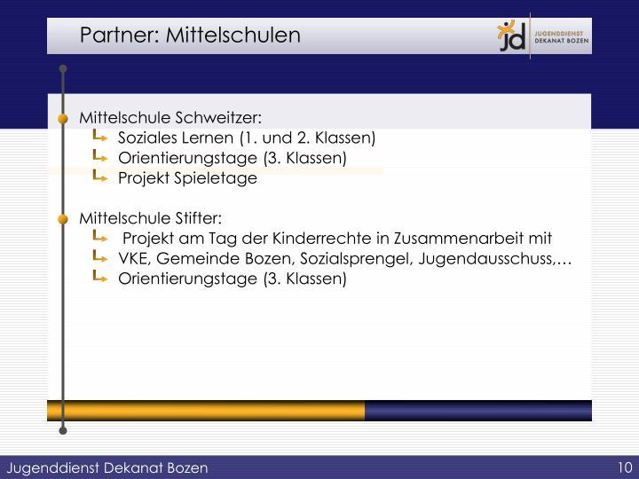 Partner: Mittelschulen