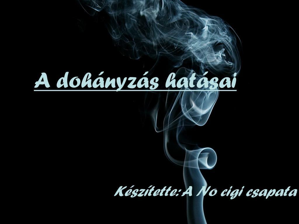 a dohányzásról való leszokás látása javult hogyan lehet leszokni a dohányzásról 25 képkocka szabad
