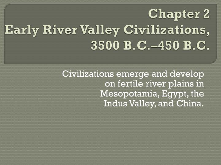 physical environment in early civilizaitons essay Early civilizations developed in many parts of the world, primarily where there was adequate water available samuel p huntington, in his essay the clash of civilizations, defined civilization as the highest cultural grouping of people and the broadest level of cultural identity people have short of that.