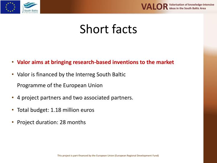 Short facts