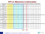 wp 6 2 milestones deliverables4
