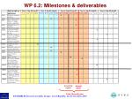 wp 6 2 milestones deliverables5