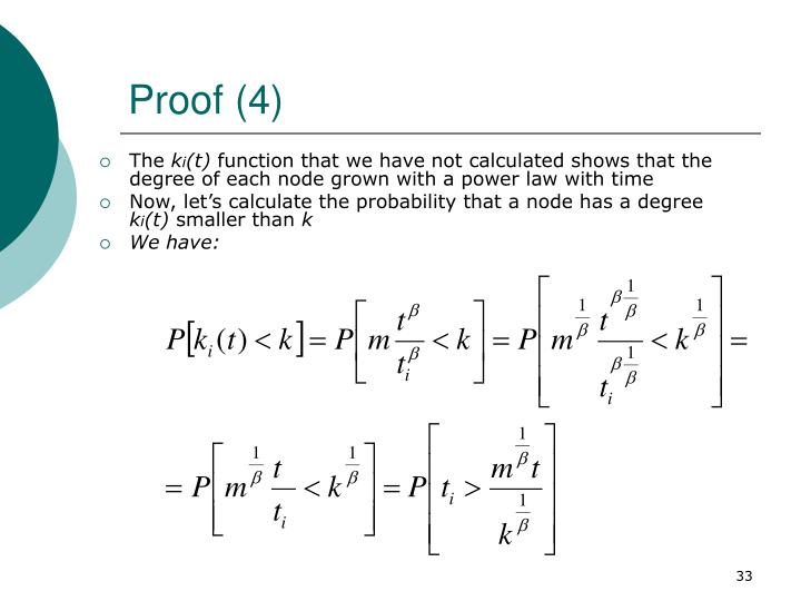 Proof (4)