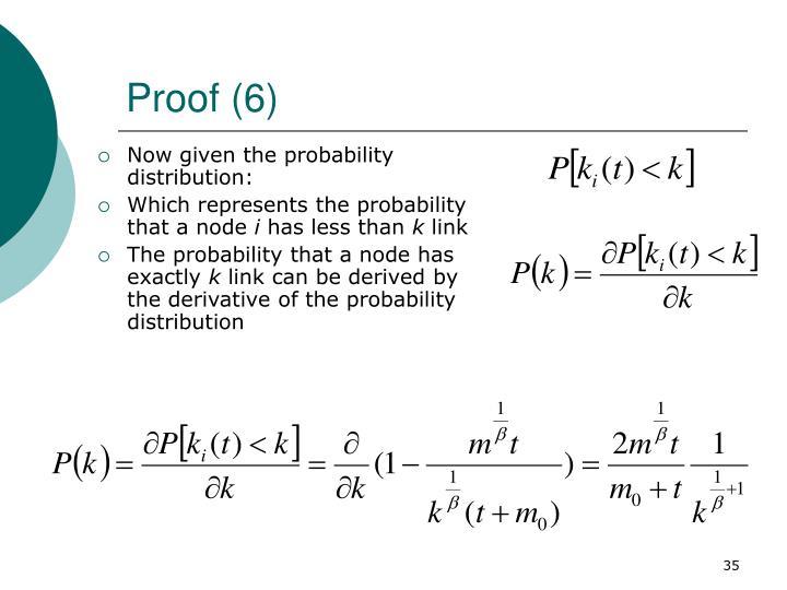 Proof (6)
