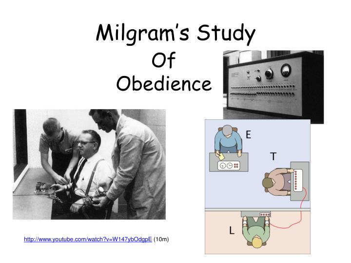 milgrams study into obedience