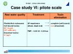 case study vi pilote scale