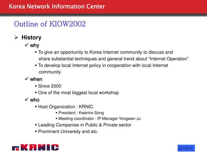 Outline of kiow2002