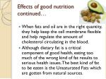 effects of good nutrition continued2