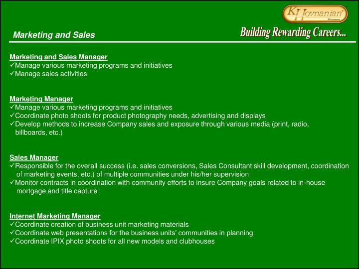 Building Rewarding Careers...