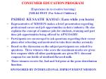 consumer education program experience in re creative learning milki fest for school children17