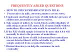 frequently asked questions4