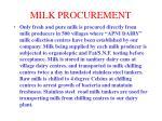 milk procurement