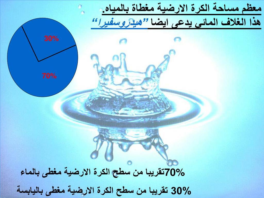 Ppt الغلاف المائي Powerpoint Presentation Free Download Id 5074760