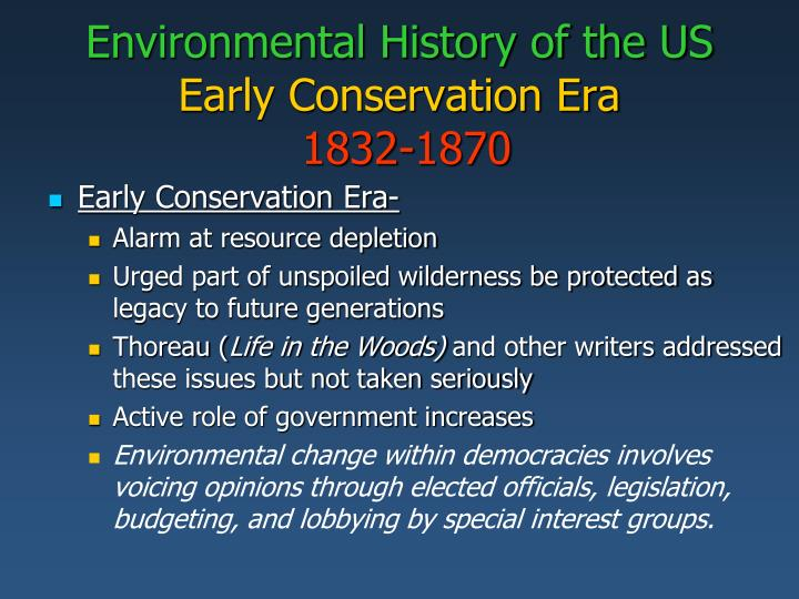 role of government in environmental conservation