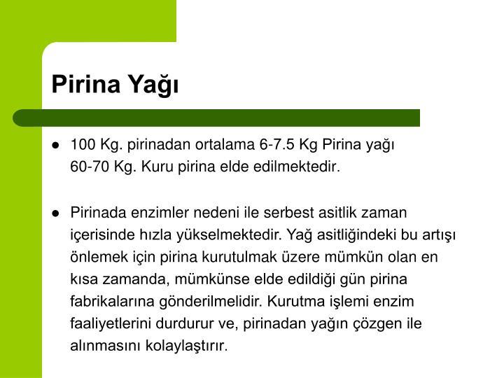 Pirina Yağı