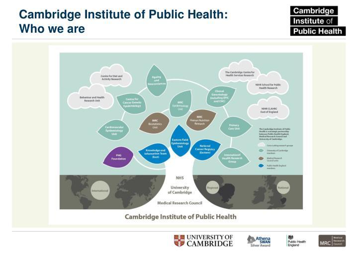 Cambridge Institute of Public Health: